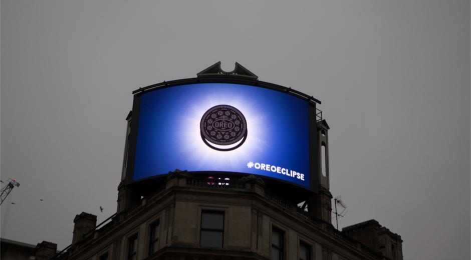 DOOH news OreoEclipse