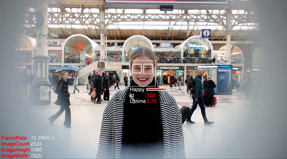Vaillant Smile Face Detection digital OOH