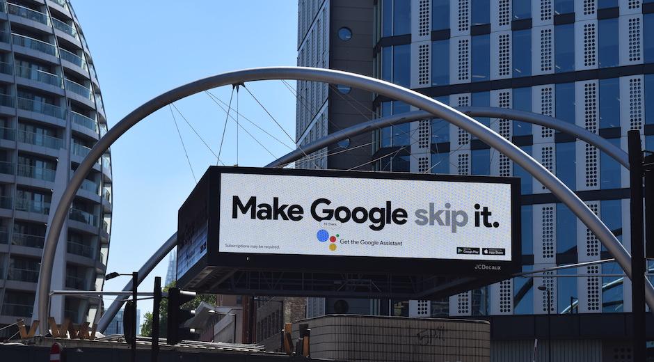 google digital ooh old street