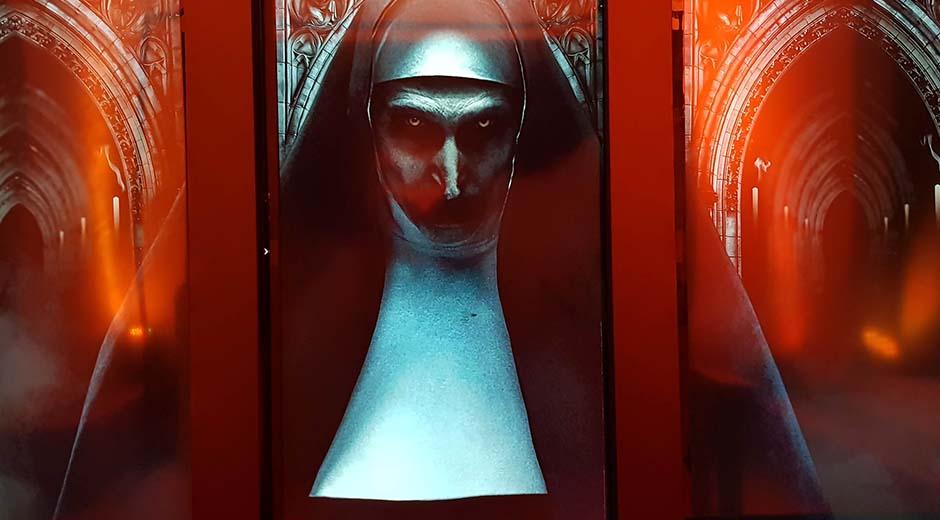 The Nun Digital OOH campaign
