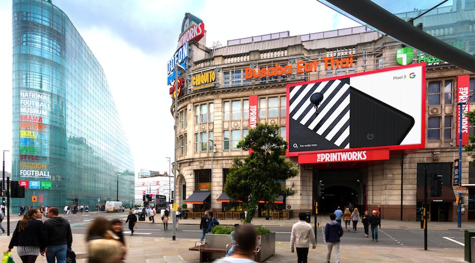 Google Pixel 3 Printworks Manchester