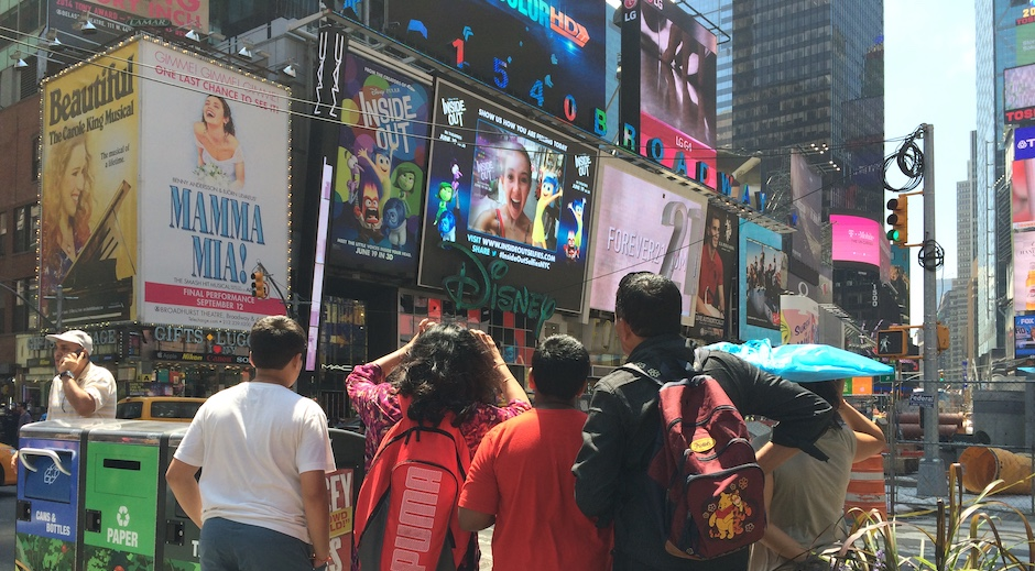 Augmented Reality Experience Digital OOH Times Square