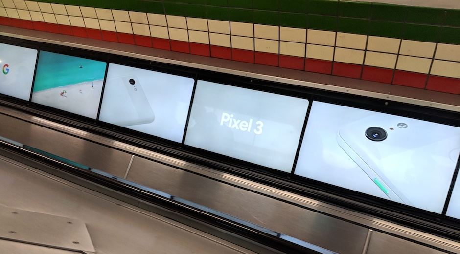 Google Pixel 3 Global DOOH