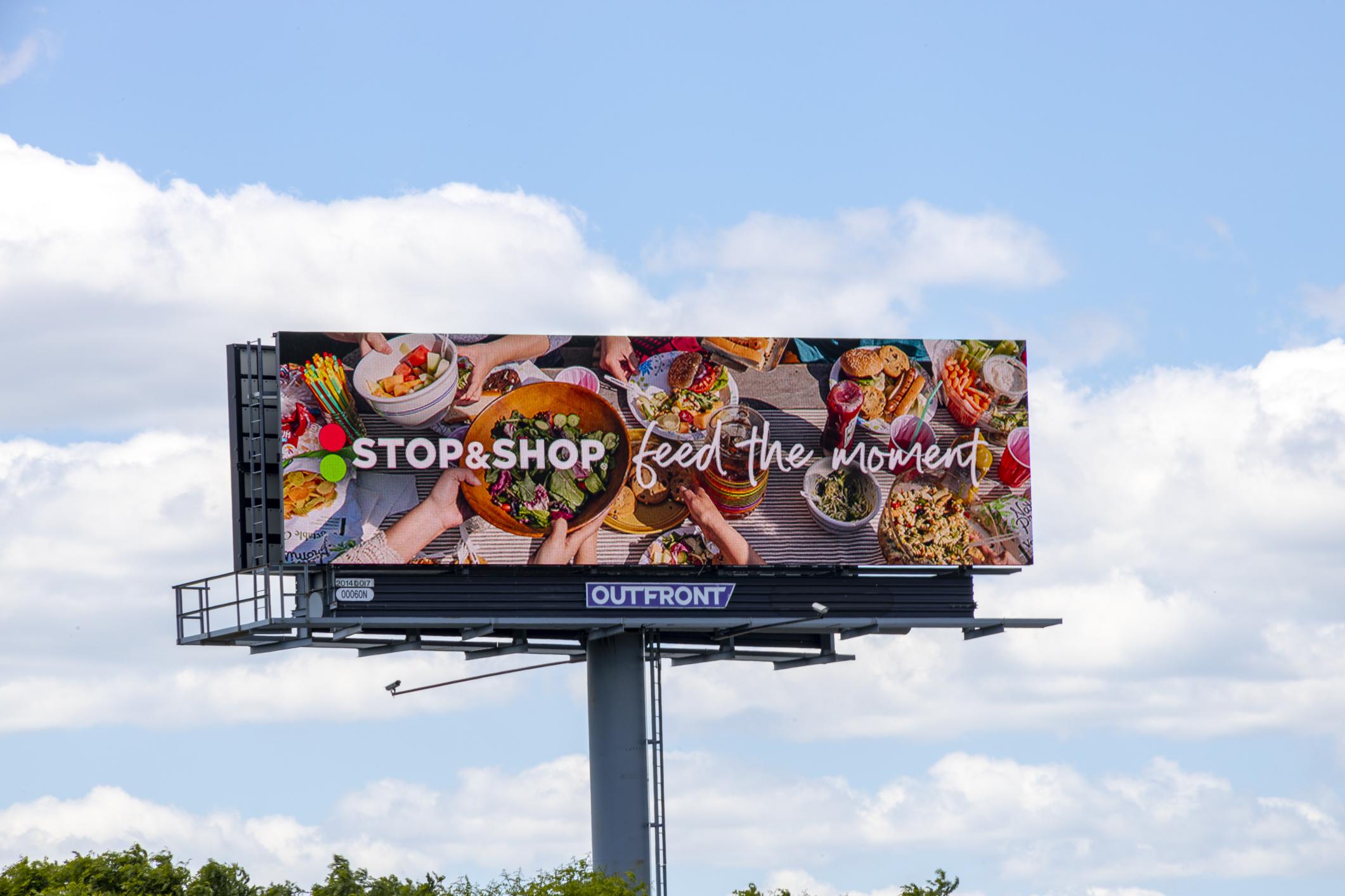 Stop & Shop - Grand Visual, Havas, Talon OOH.