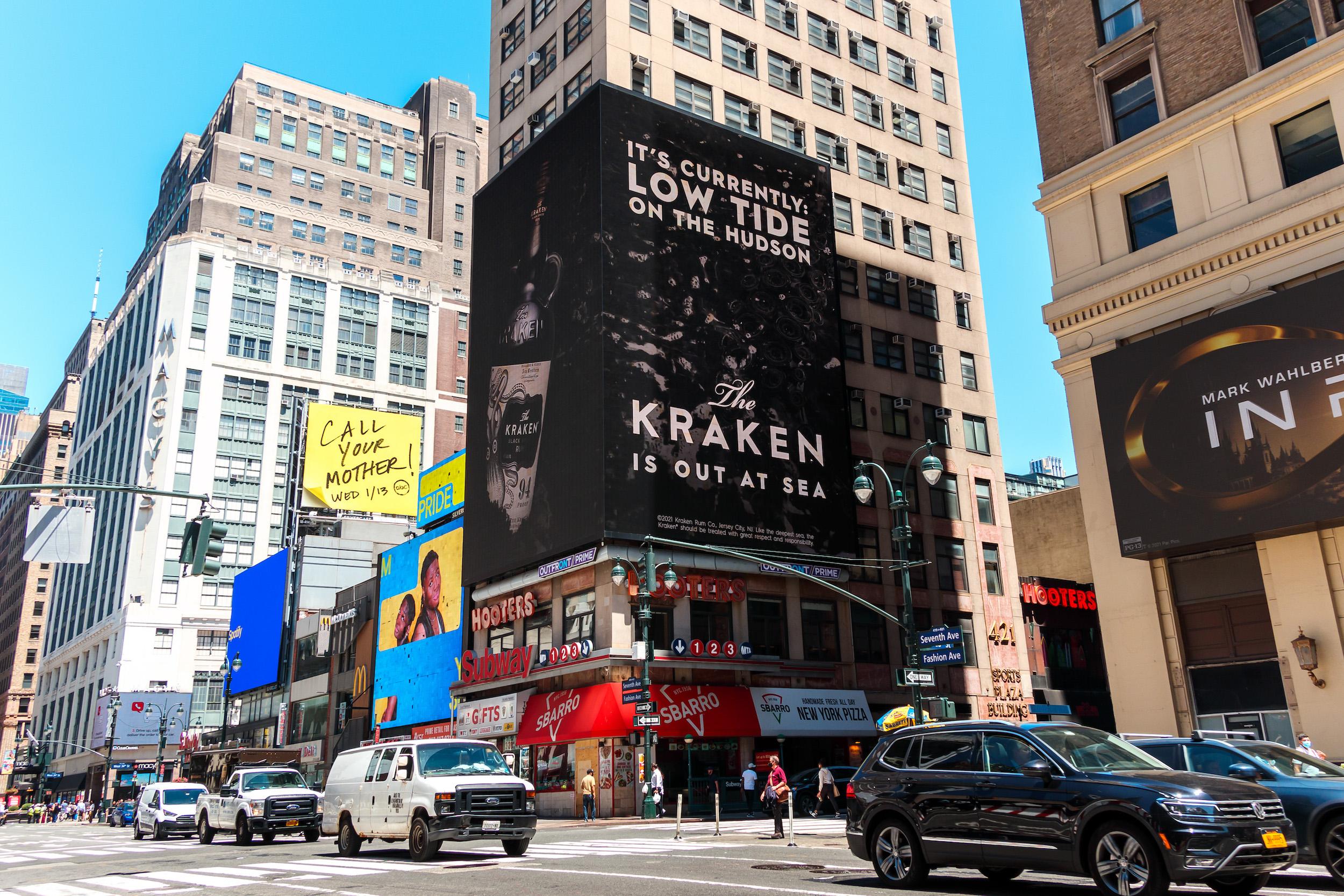 Kraken - Grand Visual, Havas, Talon OOH.