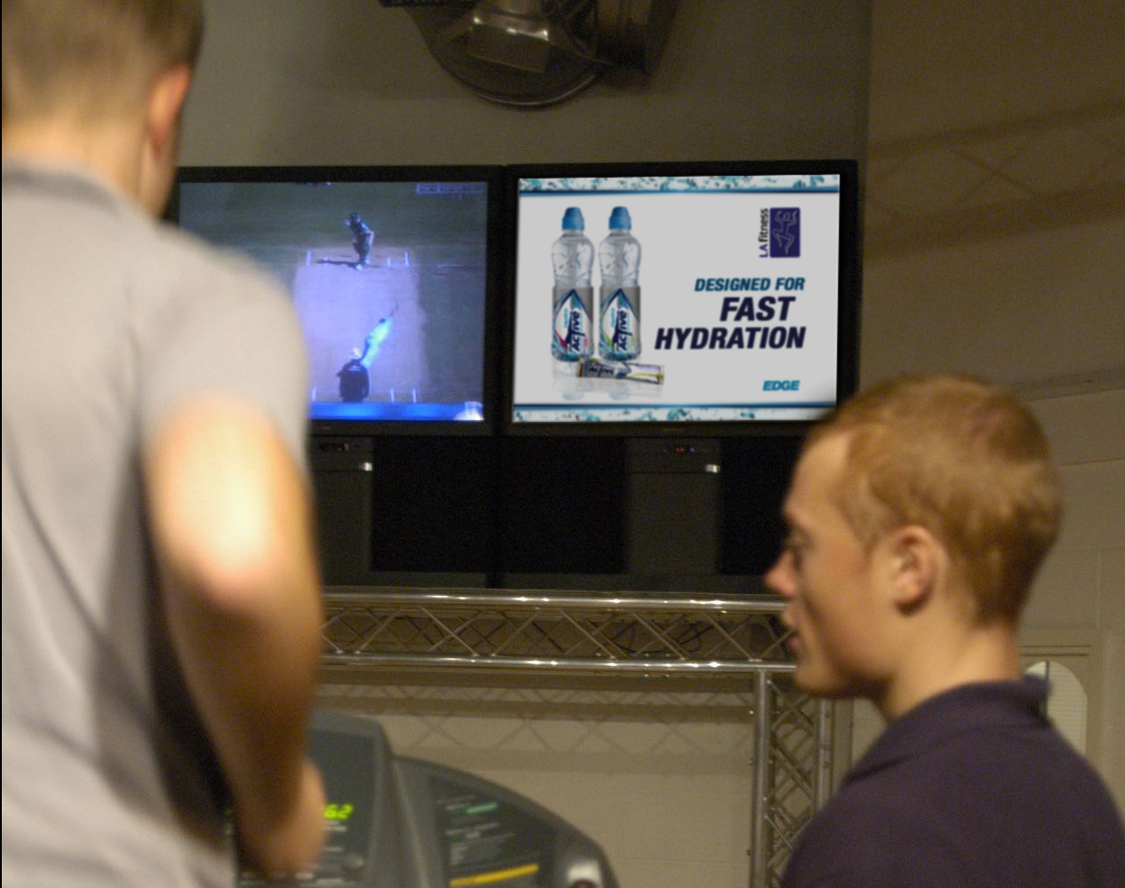Lucozade Targets Gym Goers
