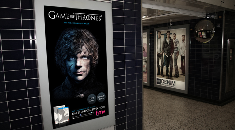 Game of Thrones Announces War on the Underground