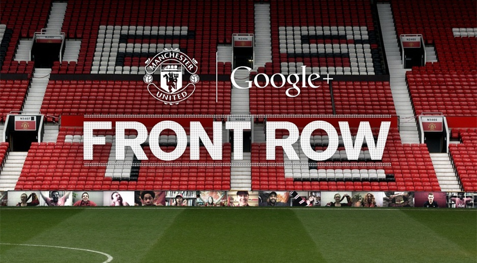 Google+ Front Row