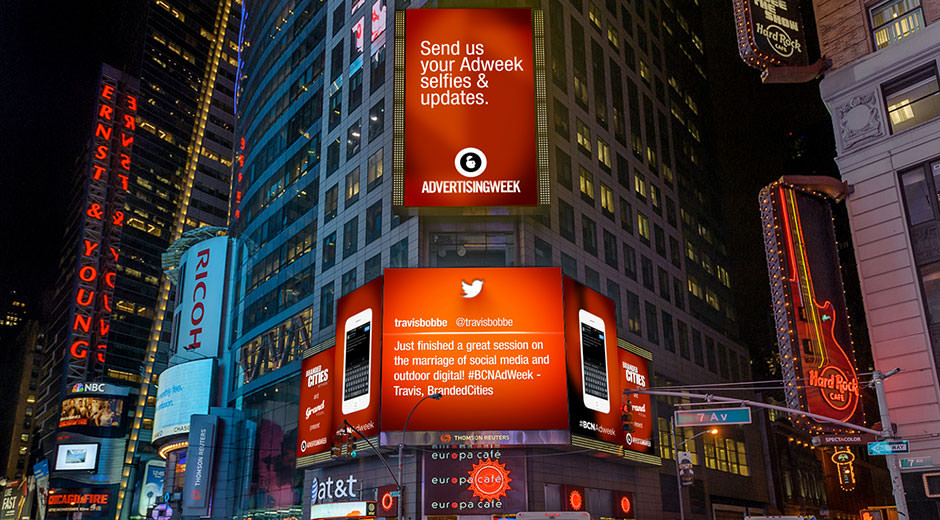 Branded Cities Launches Dynamic DOOH Adweek Competition