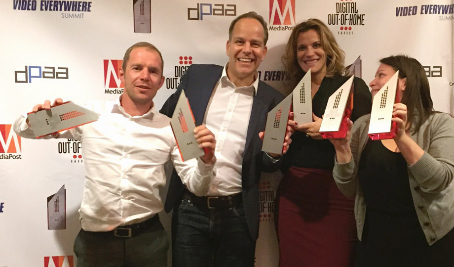 New York, We Love You — Six Wins for GV at MediaPost DOOH Awards
