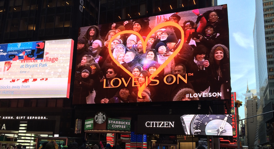 From New York: Revlon Embraces DOOH in Times Square
