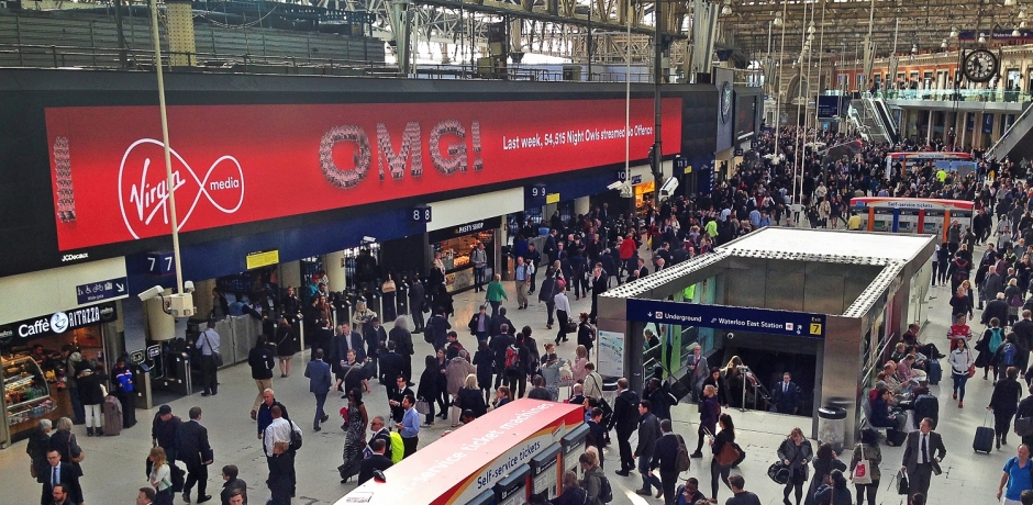 Dynamic Campaign gets Commuters on Stream Train for Virgin Media