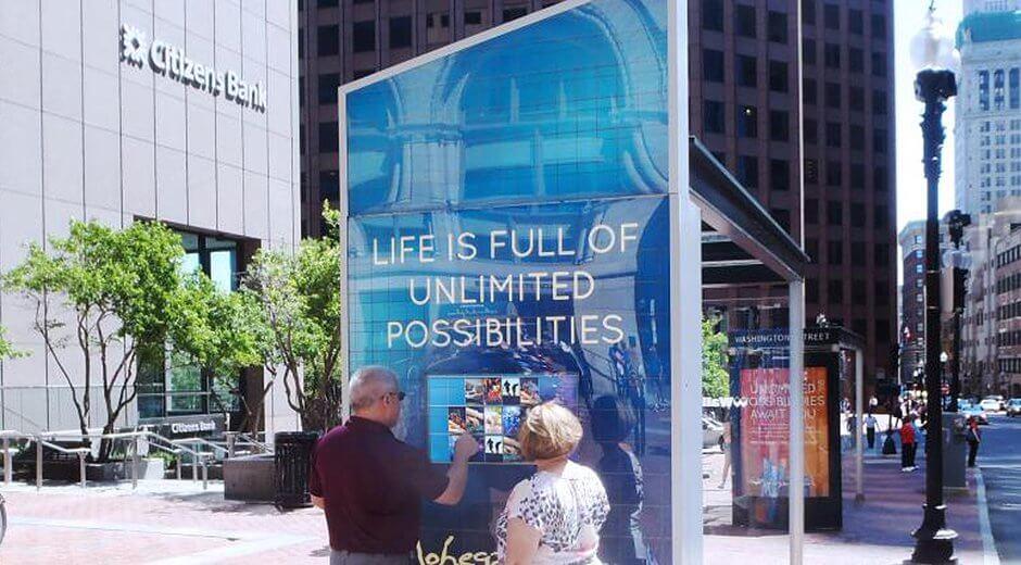 Mohegan Sun Launch Interactive Bus Shelter Campaign Across Boston