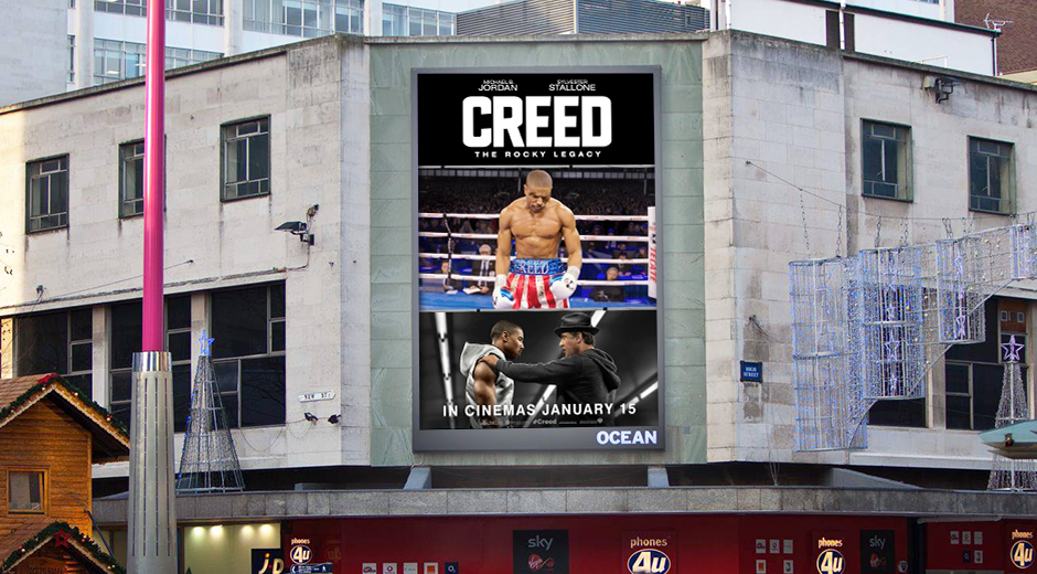 International DOOH Supports Creed Release