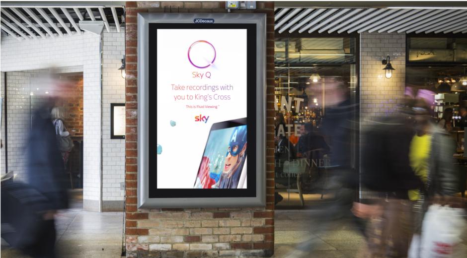 Programmatic Creative Promotes Sky Q