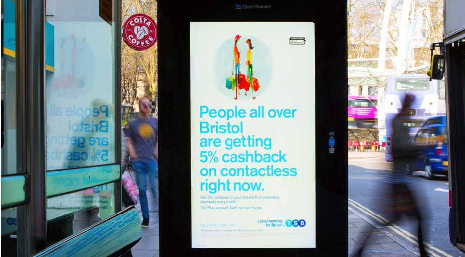 TSB Campaign Takes to DOOH