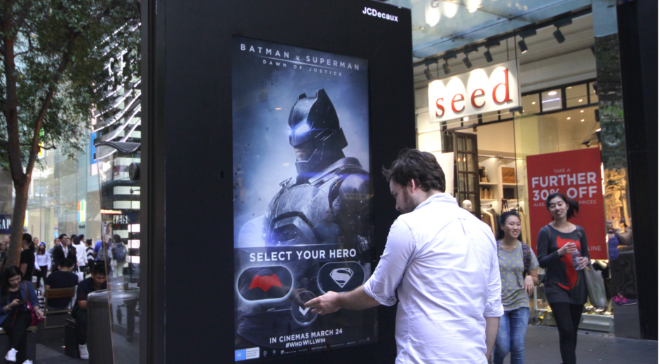 Batman V Superman: International Digital Outdoor