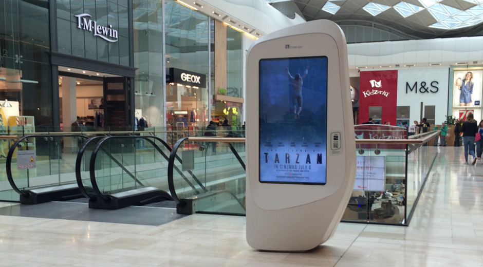 International DOOH Campaign for 'The Legend of Tarzan' Release