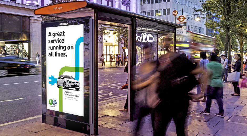 Innovative ZipWagen Partnership Promoted with Dynamic DOOH