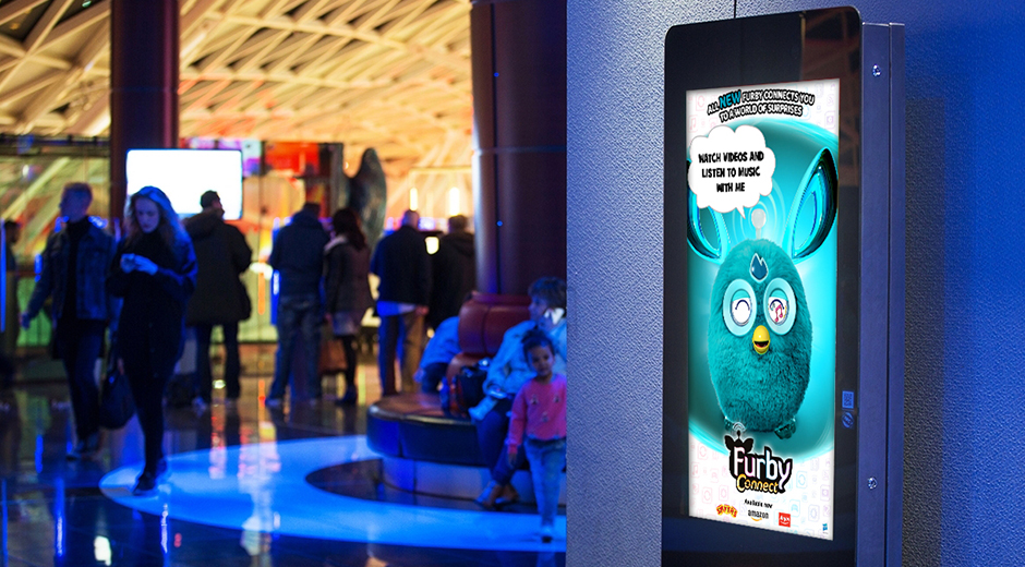 Furbish Commentary Greets Cinema Goers with Dynamic DOOH