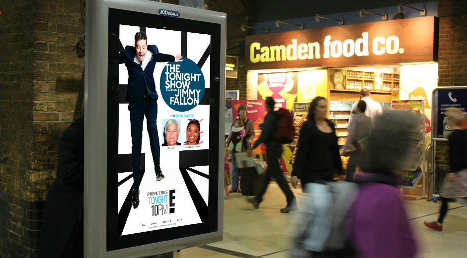 Nationwide DOOH Promotes Tonight Show Starring Jimmy Fallon