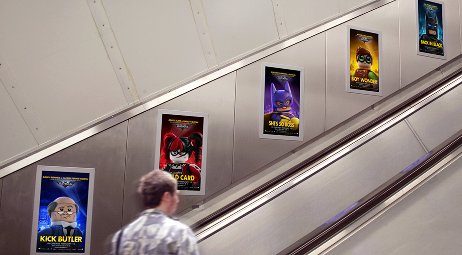 Major International DOOH Release for The Lego Batman Movie