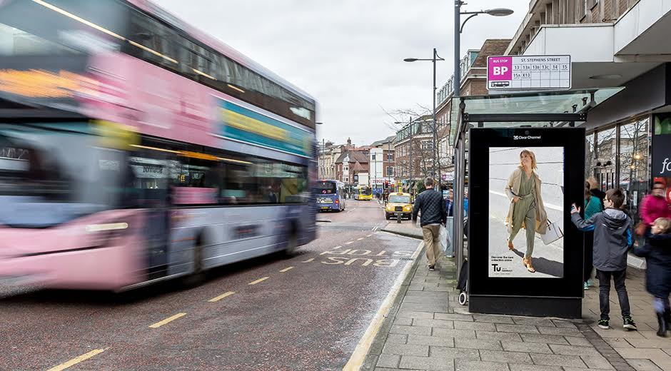 TU at Sainsbury's Takes its Fashion Inspiration to the Streets with Dynamic DOOH