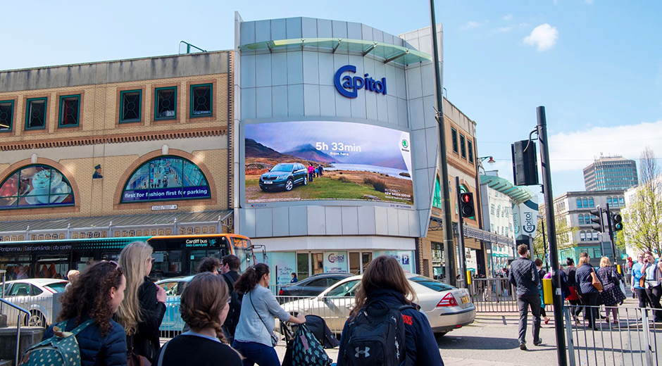 Skoda Drives Brand Fame With Dynamic DOOH
