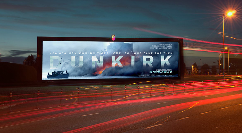 Global Digital OOH Campaign Promotes Warner Bros Dunkirk Release