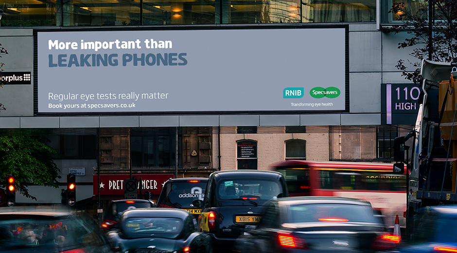 Specsavers Launches Reactive Digital OOH Campaign Ahead of National Eye Health Week