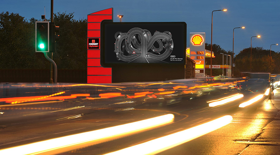 Audi Unleashes Tactical, Data-Driven Roadside Campaign