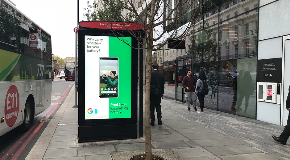 Google Launches Data-Driven Roadside Campaign to Promote Google Pixel 2