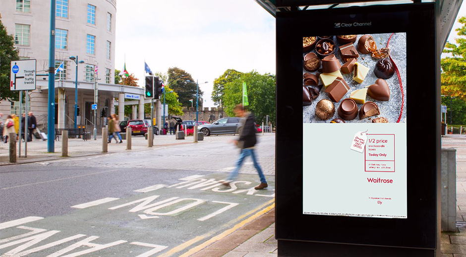 Waitrose Uses DOOH to Promote Festive Food Deals